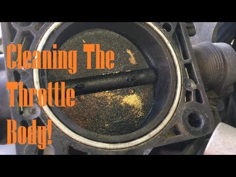 CLEANING THE THROTTLE BODY ON MY 2003 SPORT TRAC!