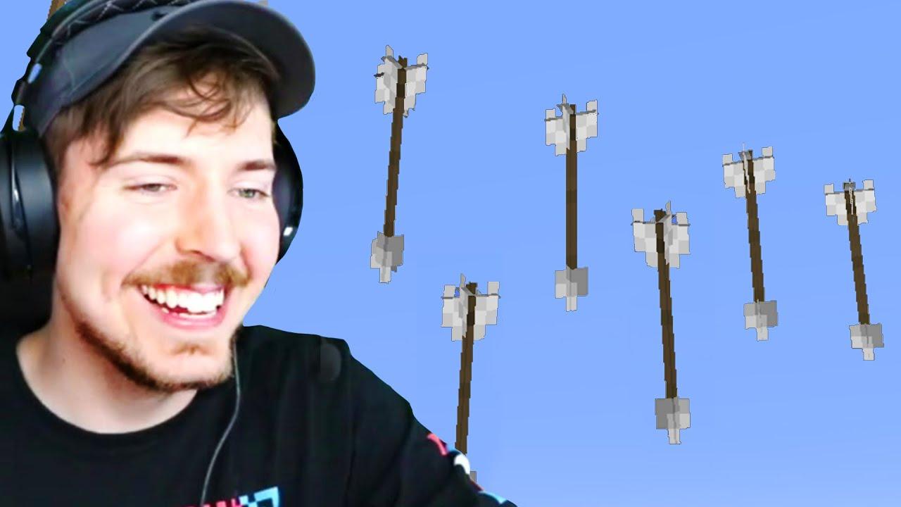 Minecraft But It's Raining Arrows!