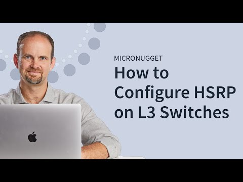 L3 Switching: HSRP Configuration