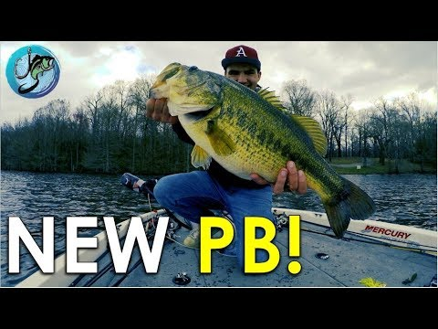Personal Best Largemouth! | How to Catch Inactive Pre-spawn Bass