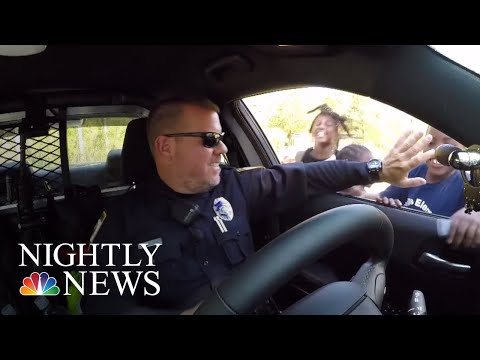 Police Officer Uses Viral Fame To Help Communities | NBC Nightly News