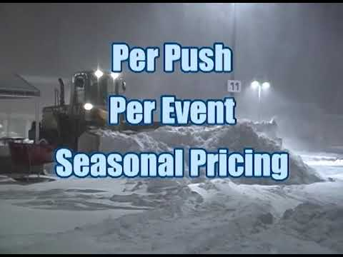 Commercial Snow Removal Plowing Snowplowing Contractor Pittsburgh PA OH MD VA WV DE NJ