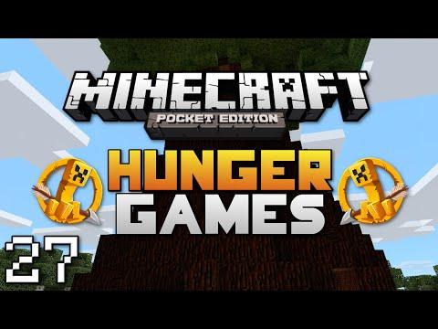 Minecraft: Pocket Edition Hunger Games #27   Hide GUI Challenge