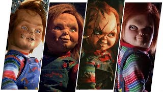 Chucky Evolution in Movies & TV (Child