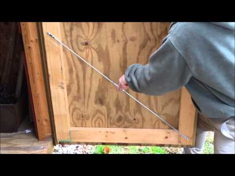How to fix a bowed door
