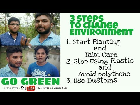 How to Stop pollution    3 Steps to stop Environmental pollution    World Environment Day