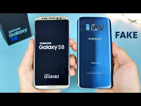 NEW Fake Samsung Galaxy S8 Curved Display Unboxing!