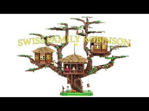 LEGO Swiss Family Robinson Treehouse | Philly Brick Fest 2018