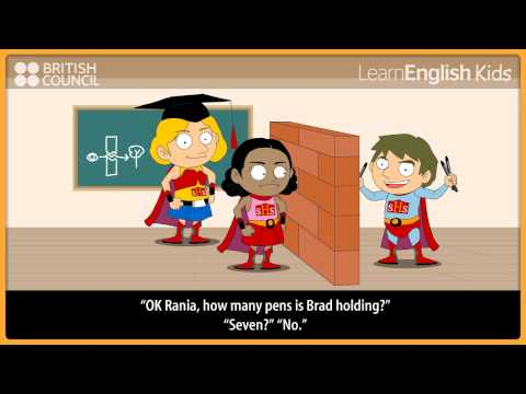 Superhero high - Kids Stories - LearnEnglish Kids British Council