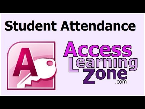 Microsoft Access: Tracking Student Attendance, Append Query