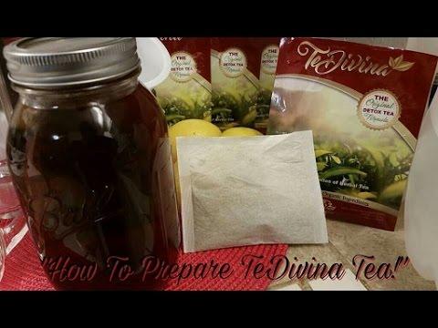 How To Prepare #TeDivina Detox Tea!