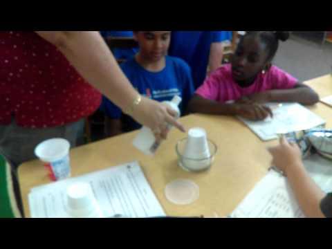 Nail polish remover melts plastic cup