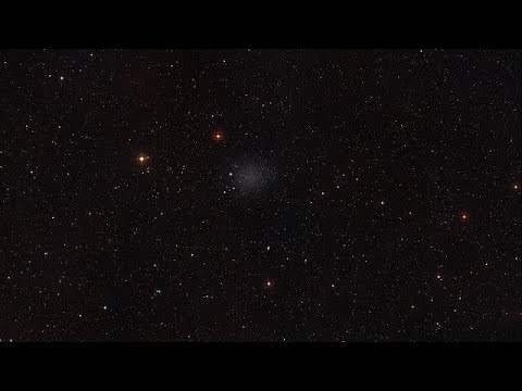 Zoom on a a part of the Sculptor Dwarf Galaxy