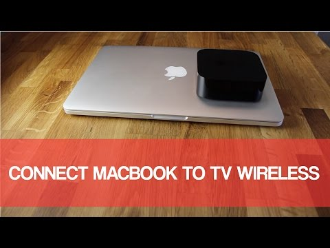 Connect Macbook To TV Wirelessly 2016