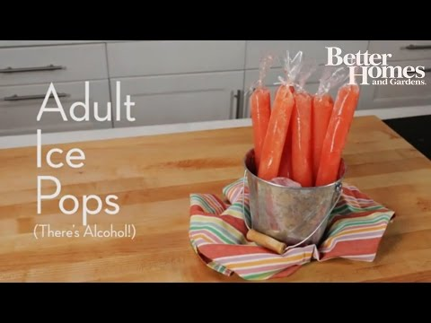 Adult Ice Pops (There's Alcohol!)