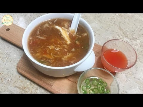 Chicken Hot n Sour Soup Recipe | Cook With Fariha (2018)