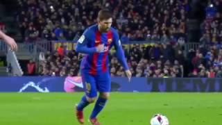 Lionel Messi Stunning Free Kick Goal vs Athletic Bilbao (11.1.2017) HD