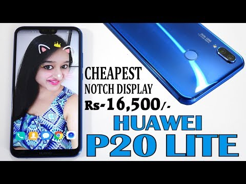 Huawei P20 LITE - Unboxing & Overview - In Hindi
