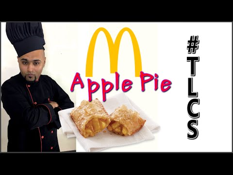 Make McDonald's Apple Pie In Microwave At Home - The Legit Cooking Show