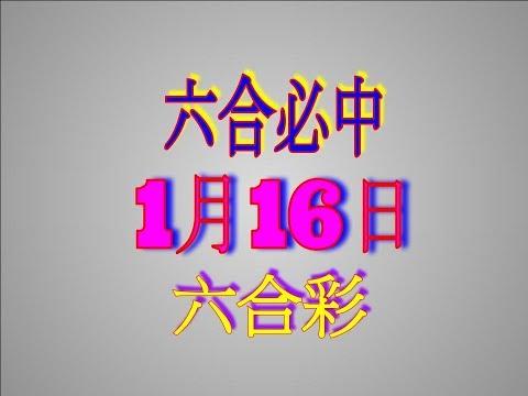 1月16日-六合彩必中-金彩港號版路