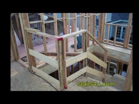 Contractor Secret For Building a Temporary Job Site Stair Safety Handrailing