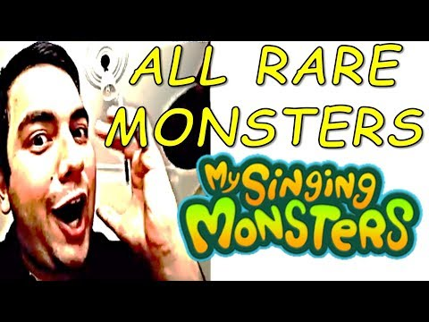 My Singing Monsters All Rare Monsters are Available for a limited time!