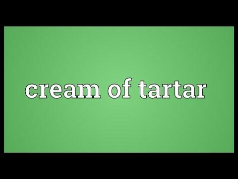 Cream of tartar Meaning