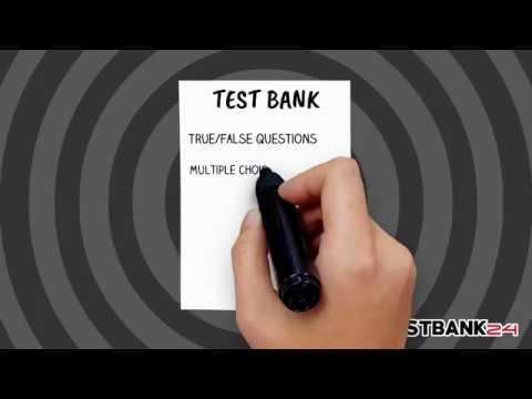 DOWNLOAD TEXTBOOK TEST BANK