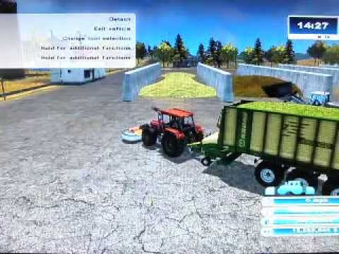 Farming Simulator 13 How to Make money fast part 2. xbox PS3