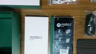 Motorola Moto z play in box accessories India version