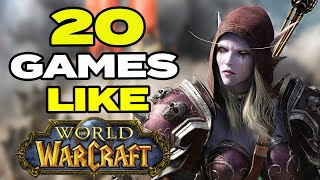 TOP 20 BEST Games Like World of Warcraft for Android & iOS | Classic MMORPG