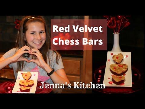 Chess Bars:  Red Velvet