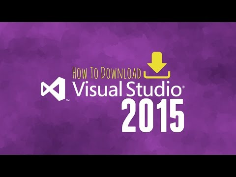 How to: Download Visual Studio 2015 Free