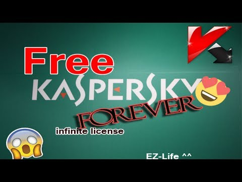How to get free license kaspersky [forever]