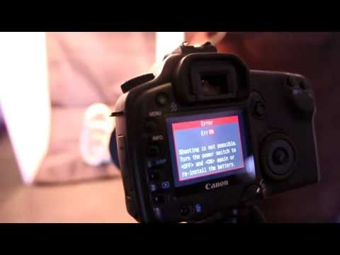 Canon Eos Error 99 30D