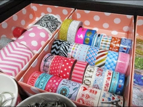 DIY : #206 DRAWER ORGANIZER for Stationary & crafts ❤