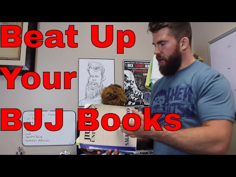 3 Easy Ways to Use a BJJ Book (Overcome Information Overload)