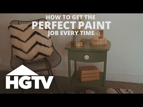 Smart Tips for a Perfect Paint Job - HGTV