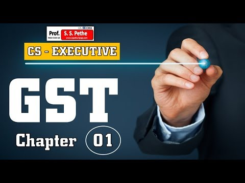 GST-1A- 'Overview of GST' explained for CS Executive Tax Laws & Practice students