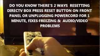 How To Program Directv Remote To Tv