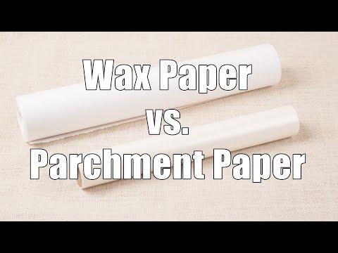Parchment Paper versus Wax Paper: Home Cooking 101