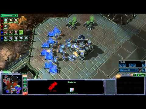 SeKo Starcraft - Playing Silver League 2v2 with IllmadicW - Amateur HOTS SC2 Replays