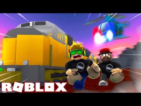TRAIN ROBBERY in ROBLOX JAILBREAK NEW UPDATE