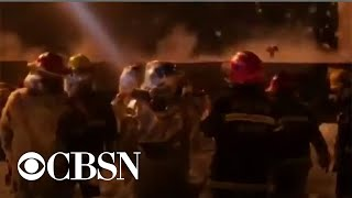 Download Dozens dead after chemical plant explosion in China Video
