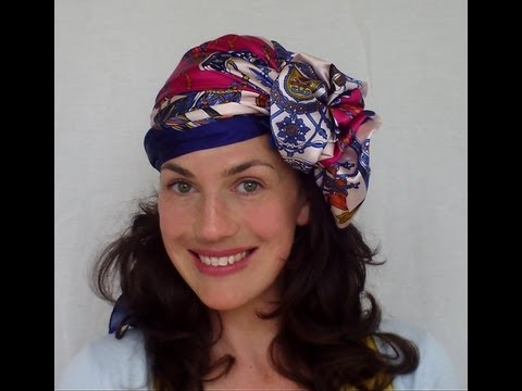 9 WAYS to wear a HAIR SCARF (vintage retro turban headwrap) - VINTAGIOUS