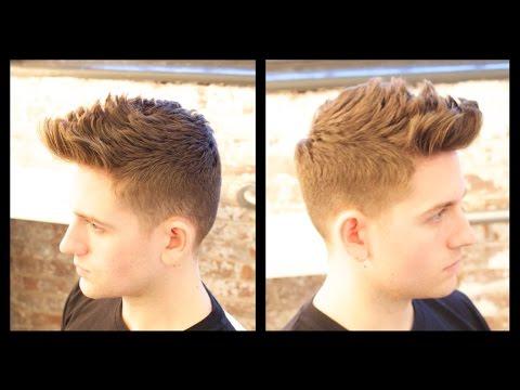 Men's Haircut Tutorial - Male Model Haircut - TheSalonGuy