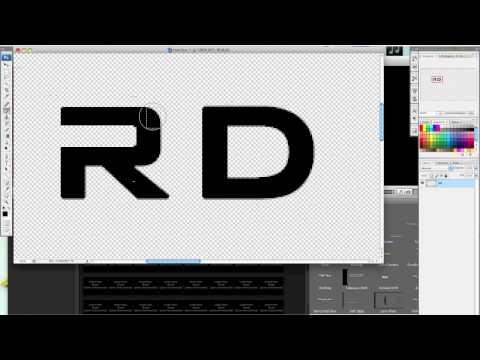 Editing a Font in Photoshop CS3, CS4, or CS5 by THExDRaGx