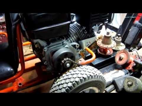 Go Kart powered by Harbor Freight Predator engine
