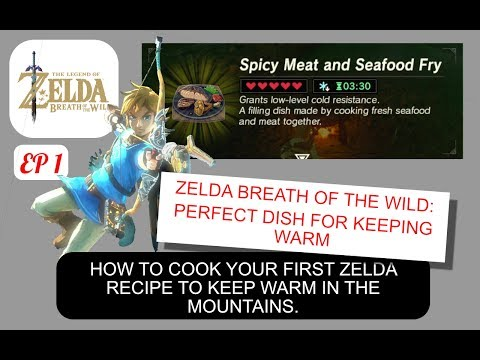 SPICY MEAT AND SEAFOOD FRY - The Legend of Zelda Breath of the Wild , How To Episode 1