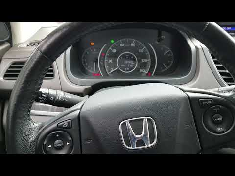 How to reset oil life honda civic and CRV 2012 2013 2014 2015 2016